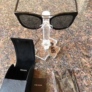 Unisex Authentic Black Prada sunglasses